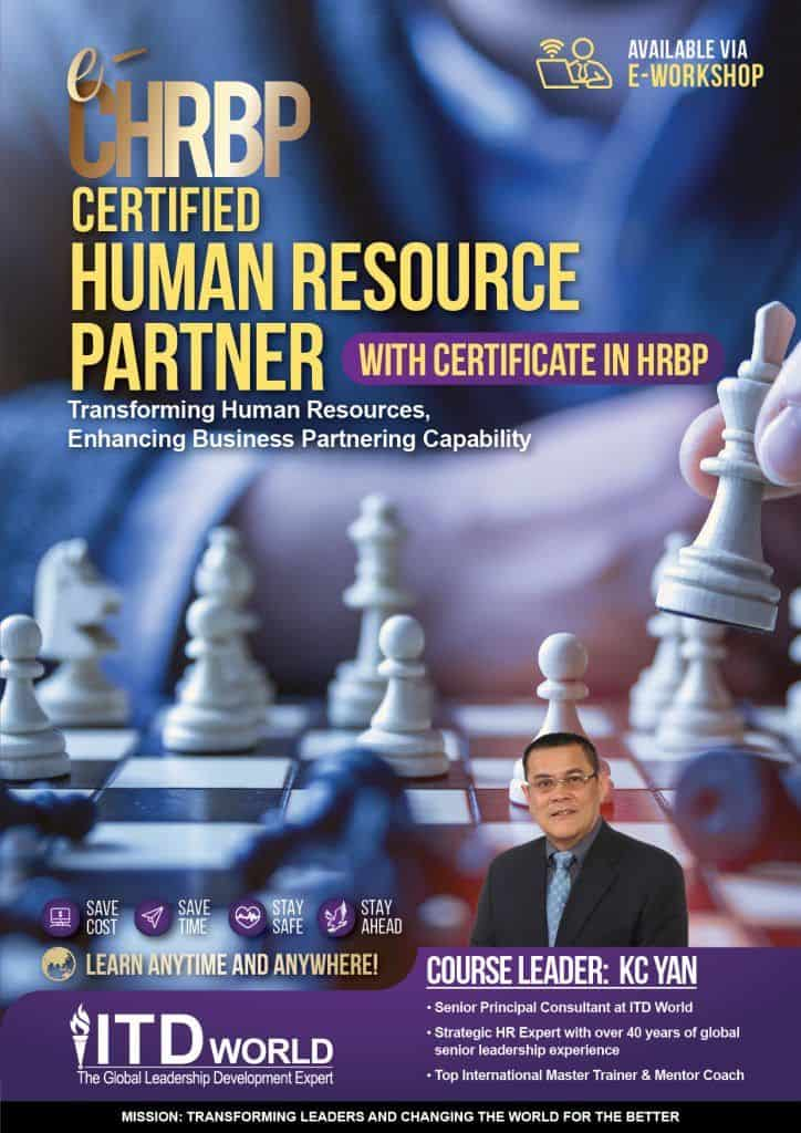 Khóa học Nhân sự - Đối tác chiến lược kinh doanh (eCHRBP)